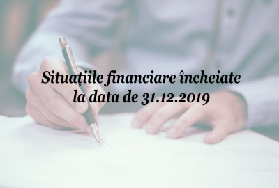 Situațiile financiare